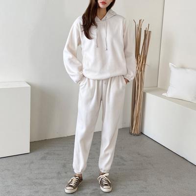 [Set] Warm Hooded Sweatshirt + Jogger Pants