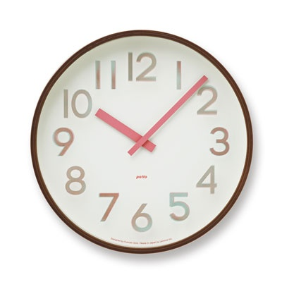 LEMNOS [GF12-08] POTTO CLOCK