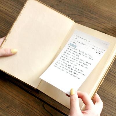 스티키 독서기록 노트 (4type)