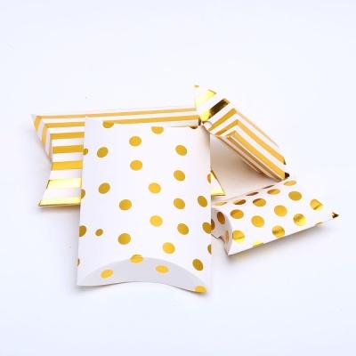 땡땡이 골드 접이식 선물상자L 선물 포장 케이스