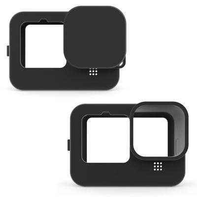고프로9 호환 실리콘 케이스 랜즈캡 고무 소프트 커버