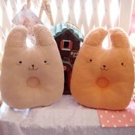 천연염색 토끼 짱구베개 DIY