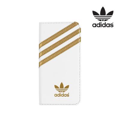 [Adidas] Booklet Case[화이트/골드][아이폰6 4.7]