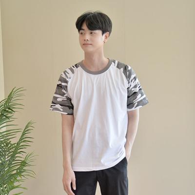 카모 밀리터리 반팔티 5 colors (남여공용) 티셔츠