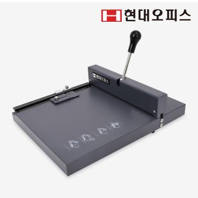 [현대오피스]수동 오시기 HBO-200 접지기 카드 인쇄