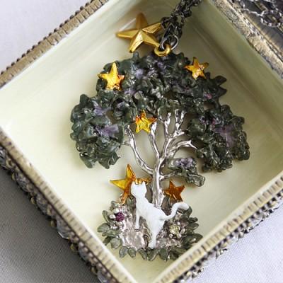 [러쉬룸] [일본직수입/Palnart Poc] tree star cat