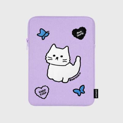 Awesome cat-purple(아이패드 파우치)