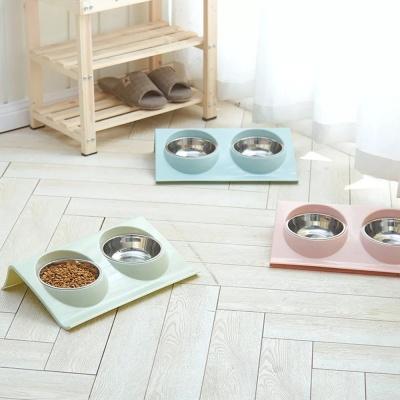 [봉봉펫] 고양이 심플 밥그릇 식기