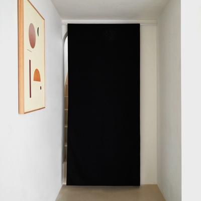 블랭크 블랙 광목원단 도어커튼_XL(RM 242001)