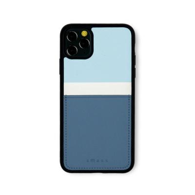 스매스 아이폰11프로 맥스 보호 카드케이스 씨원_블루