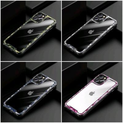 아이폰12 PRO MAX MINI 카모플라쥬 라인 투명 케이스