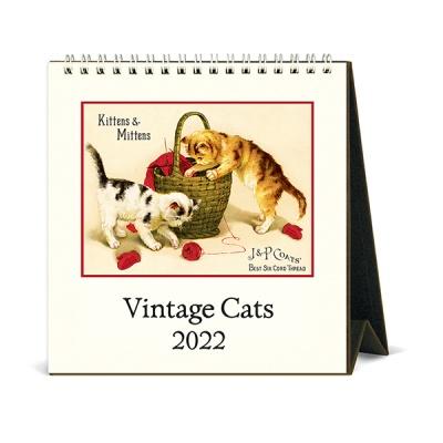 2022 데스크캘린더 Vintage Cats