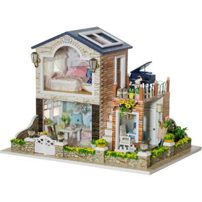 [adico]DIY 미니어처 풀하우스 - 2층 테라스 하우스