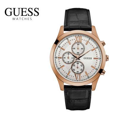 게스 남성 가죽시계 W0876G2 공식판매처 정품