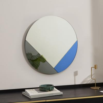 클로이 아트 미러 원형 화장대 인테리어 거울 50CM
