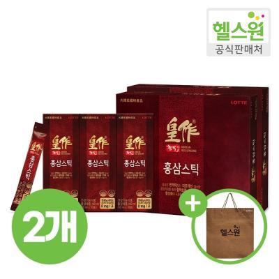 [헬스원] 황작 홍삼스틱 30포 30일분 x2개