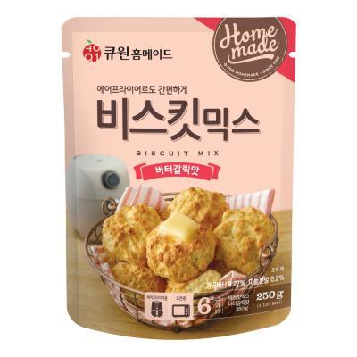 큐원 비스킷 믹스 버터갈릭 맛 (오븐/에어후라이기)