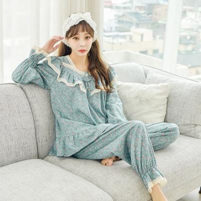 [쿠비카]모달 코튼 넥라인 투피스 여성잠옷 W501