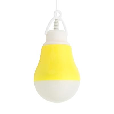 캠핑용 LED램프 / 5W 전구형 Yellow / 텐트등 LCND726