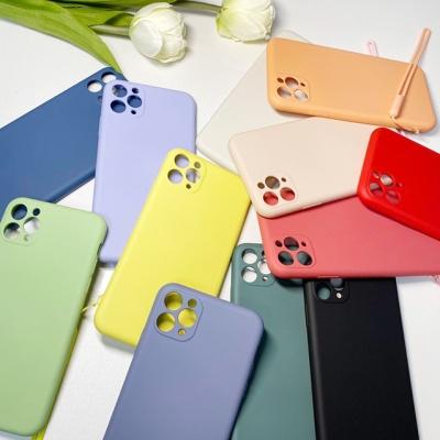 아이폰 11pro Max Xs Xr 스트랩 실리콘 케이스