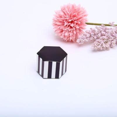 스프라이트 육각 블랙상자 사탕 선물 포장 케이스