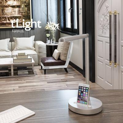 아이폰 라이트닝 독  LED스탠드 티라이트S3x