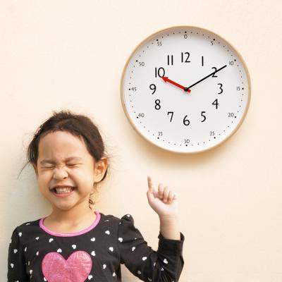 [최저가] 우드로하우스 저소음 교육용벽시계