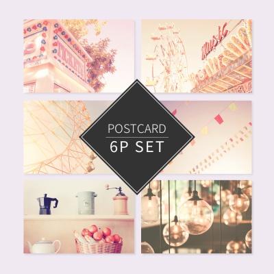뷰티풀라이프 포스트카드 엽서세트 6P