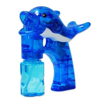 샤이니 돌고래 투명 자동버블건 블루 / 비눗방울