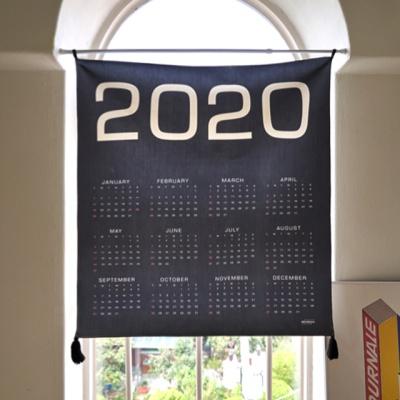 2020 미니멀 패브릭 캘린더 / 패브릭 포스터