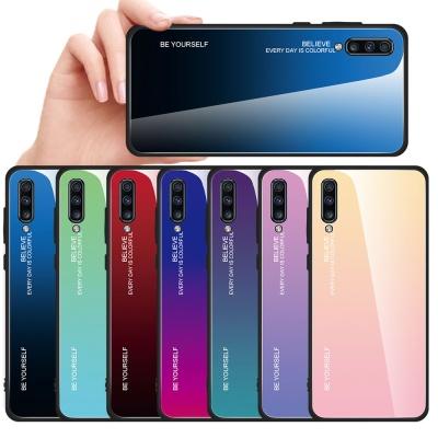 갤럭시a50/a51/a71 슬림핏 강화유리 핸드폰케이스
