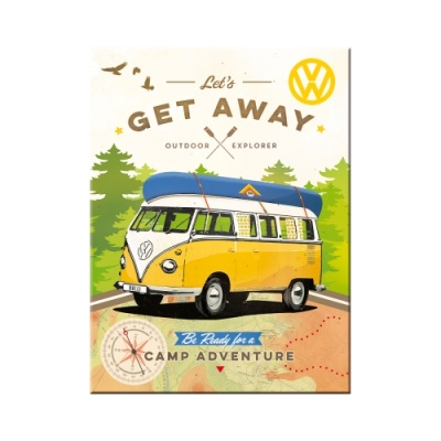 노스텔직아트[14330] VW Bulli - Let's Get Away!