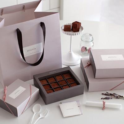 파베 초콜릿 만들기 DIY 세트 (봉주르) 발렌타인데이