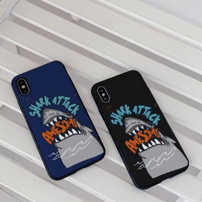 아이폰7 Shark attack 카드케이스