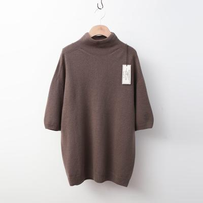 Laine Cashmere Wool Turtleneck - 반팔