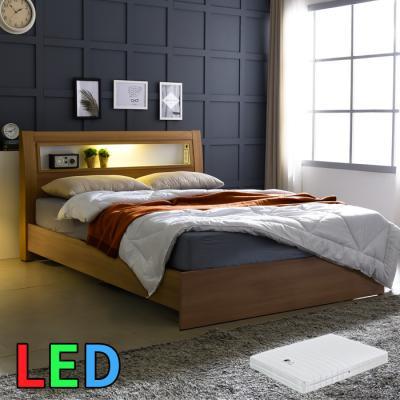 모델하우스 LED조명 침대 SS(라텍스독립매트) KC152