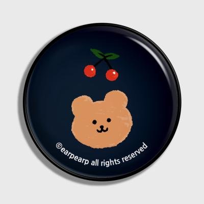 Dot cherry bear-navy(earptoktok)