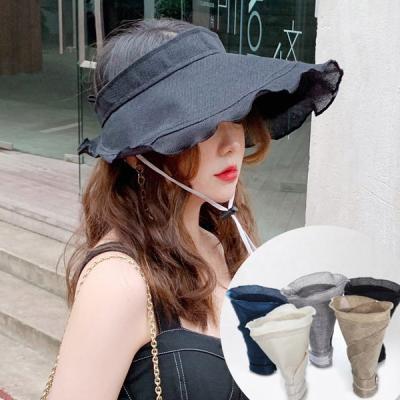 루엥 여성 자외선차단 와이어햇 여름모자 챙모자