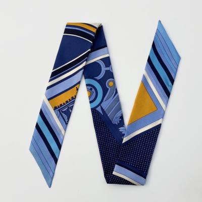 Silk Messenger Petit Tie Scarf