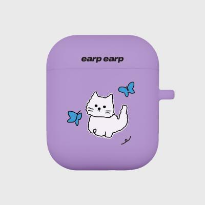 Awesome cat-purple(Air pods)