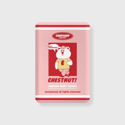 Hello chestnut-pink(무선충전보조배터리)