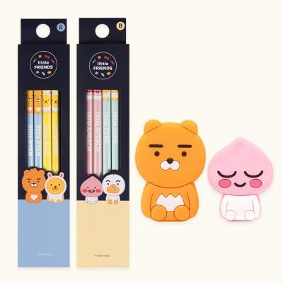 카카오프렌즈 연필캡세트