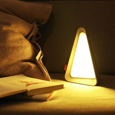 트라이앵글 LED 테이블 무드등 조명 수유등 수면등