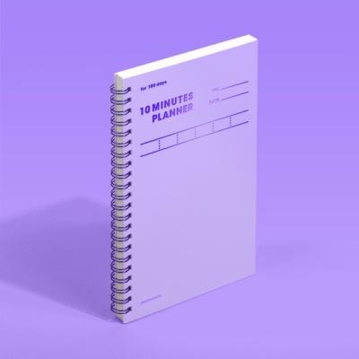 [모트모트] 텐미닛 플래너 100DAYS - 바이올렛 (1EA)
