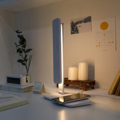 [무아스] 아이케어링 무선충전 LED 스탠드 시력보호