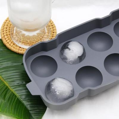 이너홈 실리콘 빅 아이스 볼 트레이 8구 커피 얼음