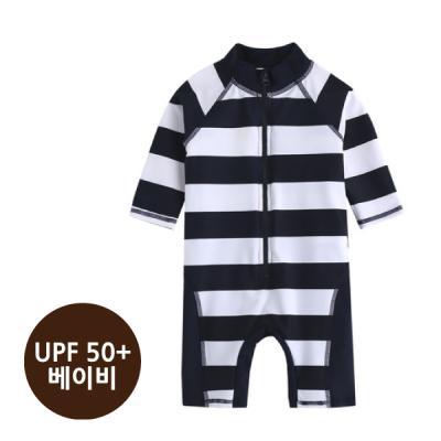 [베이비수영복] 라인ST수영복_(UPF50+) 영유아수영복 수트수영복
