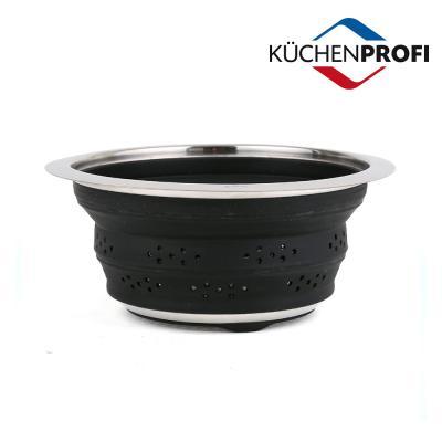 쿠첸프로피 콜랜더 블랙 22cm