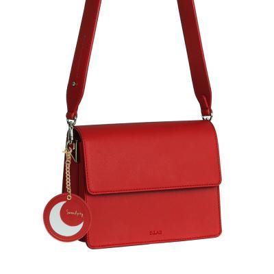 (달거울 증정/탄생석) Two way Bag (S) - Red