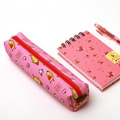포포팬시 룰루랄라 패턴 필통 핑크